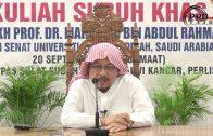 20-09-2019 Sheikh Prof Dr Mahmood Abdul Rahman: Tuntutan Mengikuti Sunnah Nabi SAW