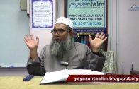 Yayasan Ta'lim: Adab-Adab Islam [02-11-2017]