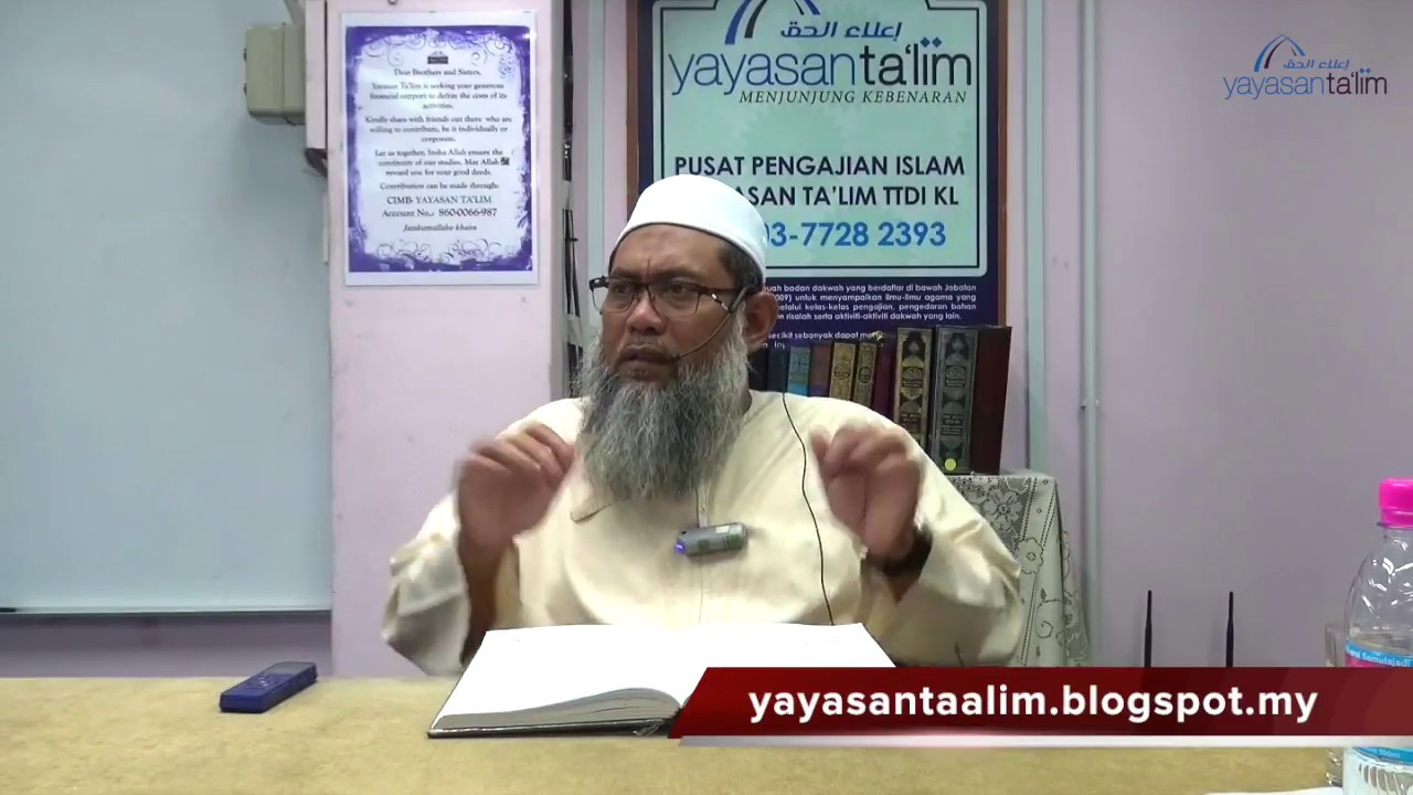 Yayasan Ta'lim: Riyadus Salihin [28-11-17]