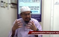 09-03-2021 Ustaz Ahmad Hasyimi : Tadabbur Surah Yunus