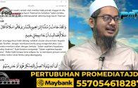 01-02-2021 Ustaz Ahmad Hasyimi : Tadabbur Surah Hud
