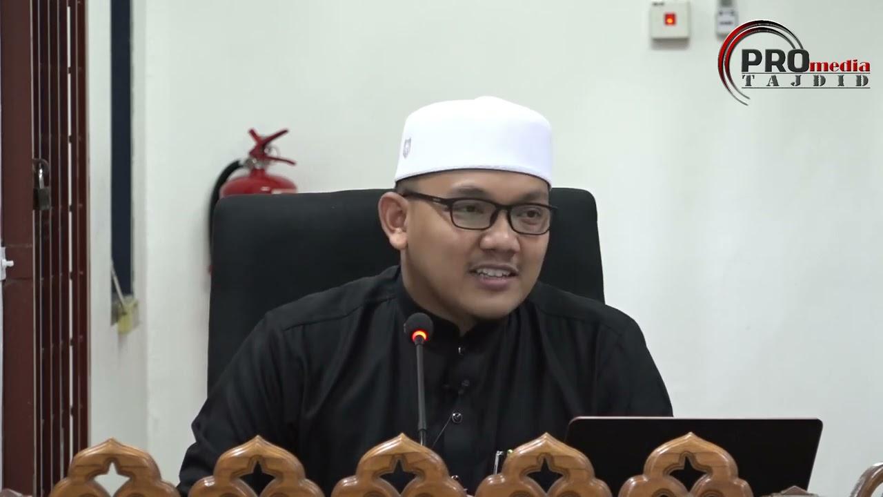 09-03-2021 Ustaz Qarni Edrus: Aqidah Imam Asy-Syafie | I'tiqad Imam Syafie – Kedudukan Para Sahabat