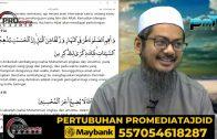 12-02-2021 Ustaz Ahmad Hasyimi : Tadabbur Surah Hud
