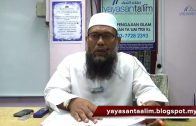 Yayasan Ta'lim: Adab-Adab Islam [30-03-2017]