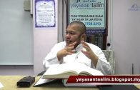Yayasan Ta'lim: Huraian Kitab Tauhid [26-03-17]