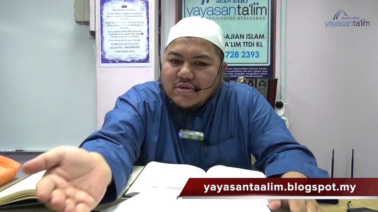 Yayasan Ta'lim: Zadul Ma'ad [18-05-17]