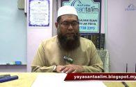 Yayasan Ta'lim: Adab-Adab Islam [12-01-2017]