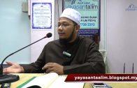 Yayasan Ta'lim: Benarkah Tiada Bid'ah Dalam Masalah Khilafiyah? [26-11-16]