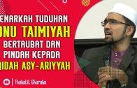 Benarkah Tuduhan Bahwa Ibnu Taimiyah Taubat & Pindah Kepada Aqidah Asy'Ariyyah? [ Dr Rozaimi Ramle ]