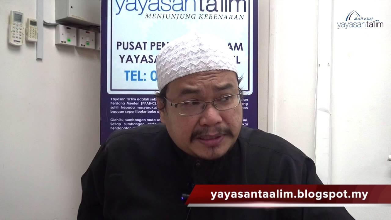 Yayasan Ta'lim: Kelas Hadith Sahih Muslim [24-08-16]