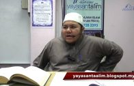 Yayasan Ta'lim: Ilmu Balaghah Al Quran [22-01-16]
