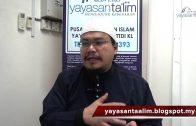 Yayasan Ta'lim: Fiqh Zikir & Doa [23-03-16]