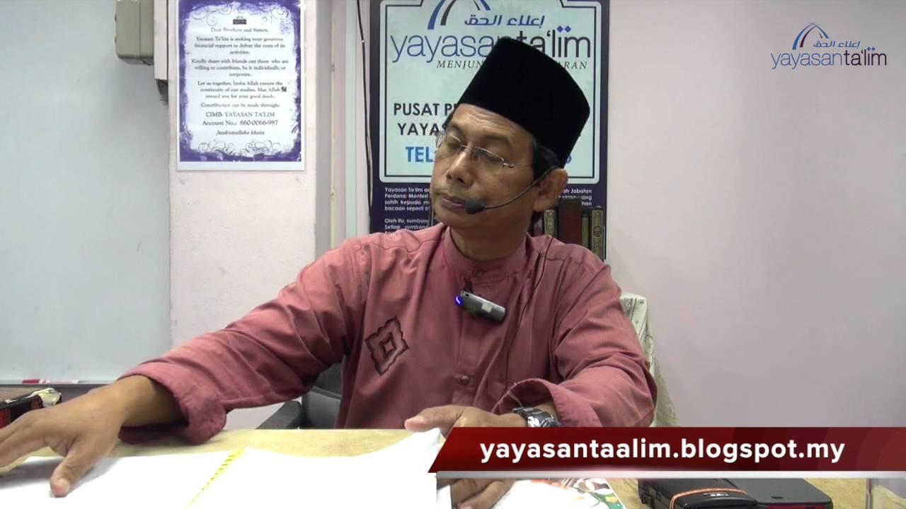 Yayasan Ta'lim: Harfiyah Al Quran [13-02-16]
