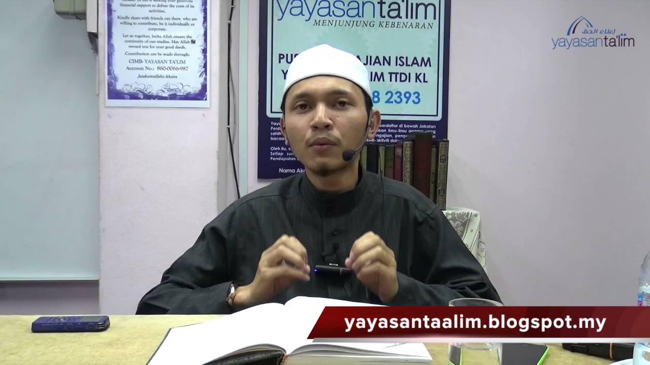 Yayasan Ta'lim: Perjalanan Ruh Menurut Imam Al Qurtubi [19-01-16]