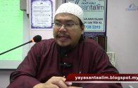 Yayasan Ta'lim: Talbis Iblis [16-01-16]