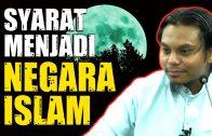Syarat Nak Menjadi NEGARA ISLAM  [ Ustaz Salman Ali ]
