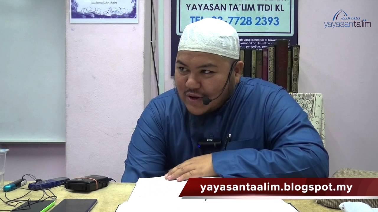 Yayasan Ta'lim: Zadul Ma'ad [14-01-16]