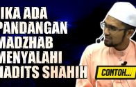 Apa Jadi Bila Pandangan Madzhab Menyalahi Hadits Shahih, CONTOH… [ Dr Rozaimi Ramle ]