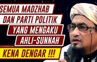 """Semua Madzhab & Pertai Politik Yang Mengaku Ahli-Sunnah """"KENA DENGAR""""  [ Maulana Fakhrurrazi ]"""