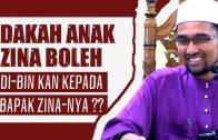 """Adakah Anak Zina Boleh Di """"Bin"""" Kan Kepada Bapak Zina-Nya  [ Dr Rozaimi Ramle ]"""