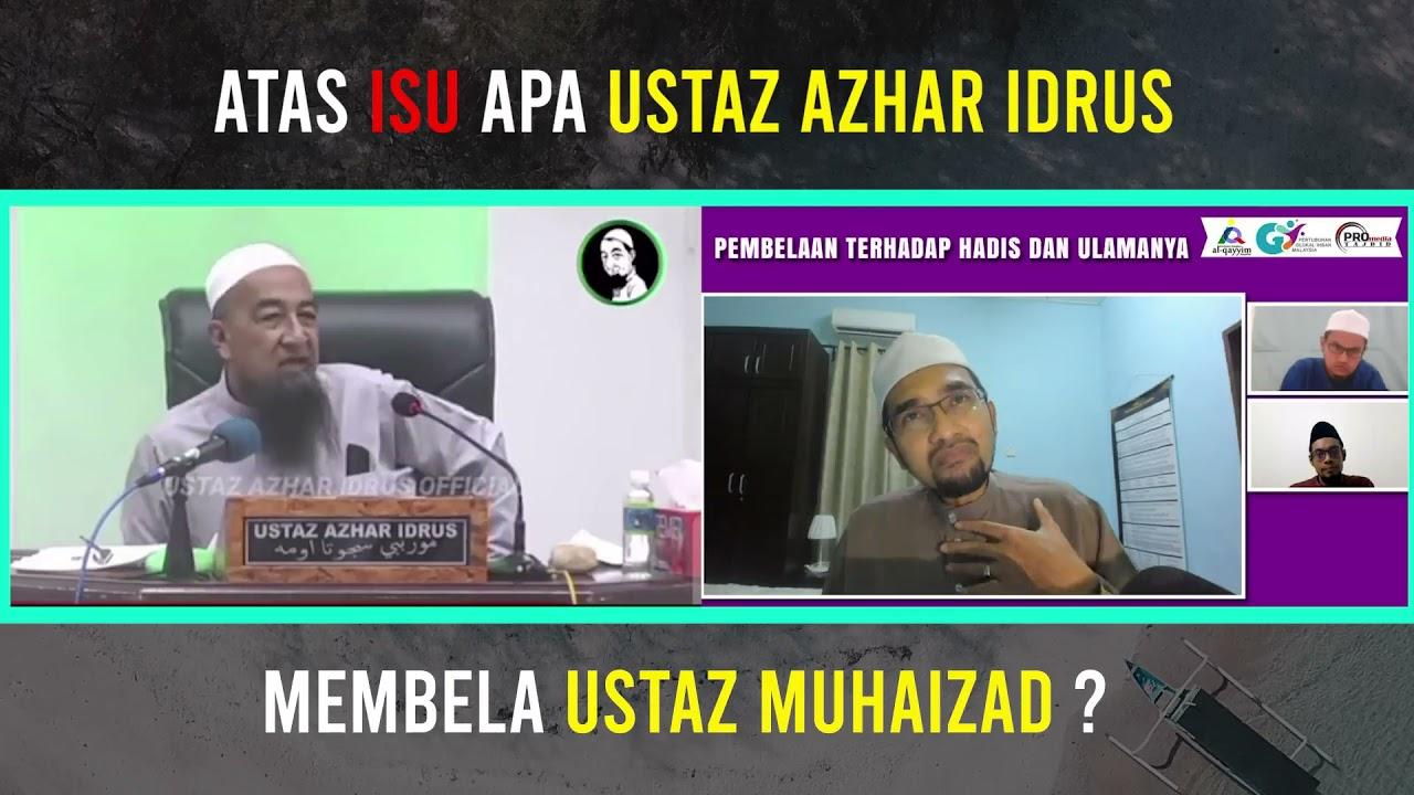 """Nasihat Dan Sedikit Pembetulan Salah Faham """" Ustaz Azhar Idrus """" Dari Dr Rozaimi"""